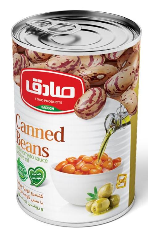 Fasola z sosem pomidorowym i oliwą z oliwek